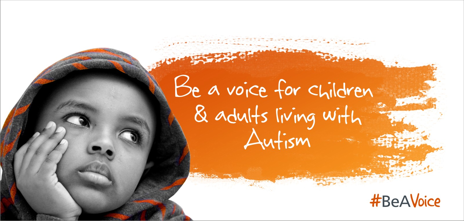 Be a voice for children & adults living with Autism